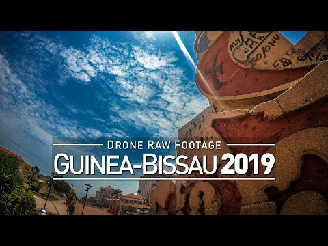 【4K】Drone RAW Footage | GUINEA-BISSAU 2019 ..:: Bissau | UltraHD Stock Video