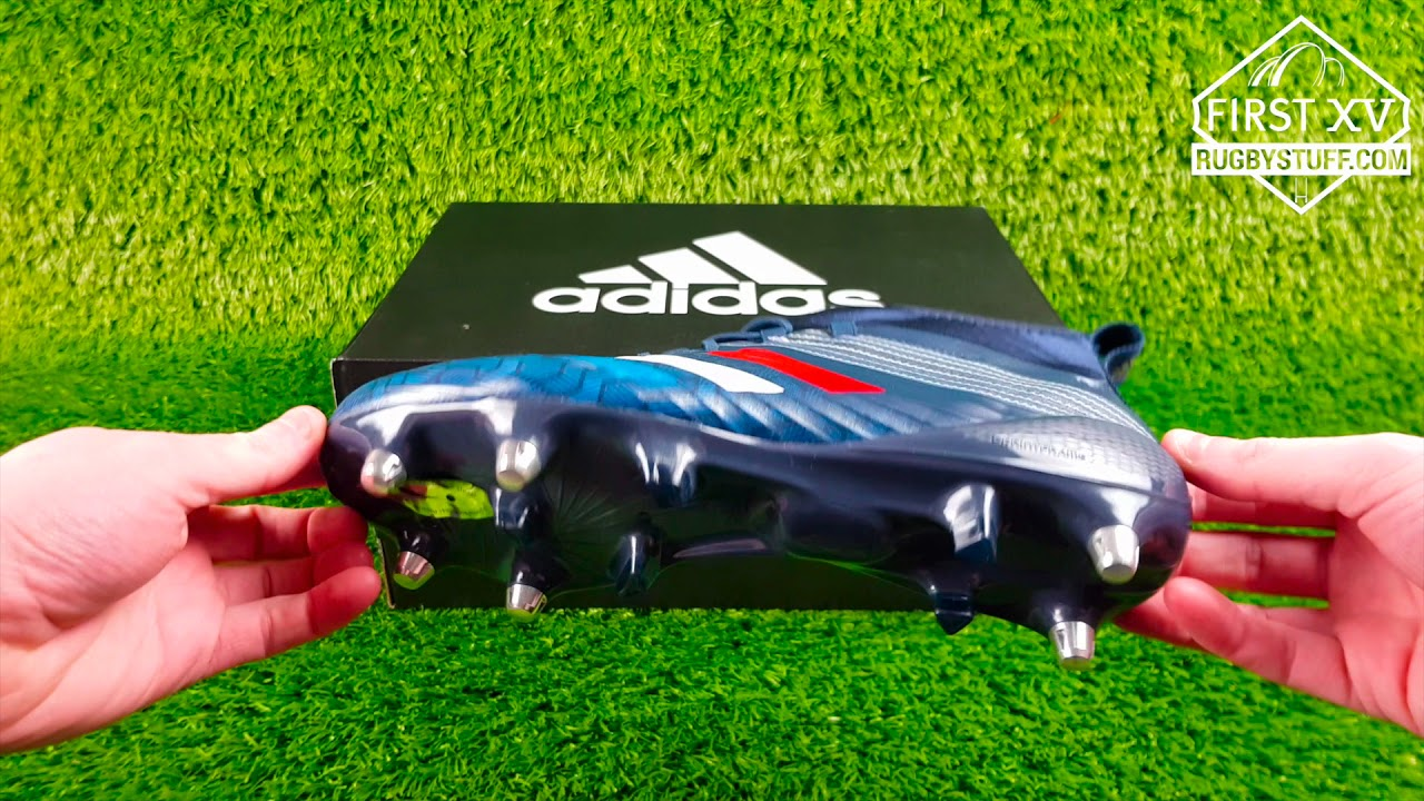 f4a1e22fe6b5 Adidas Predator Flare Rugby Boots - Tricolore Collection - YouTube