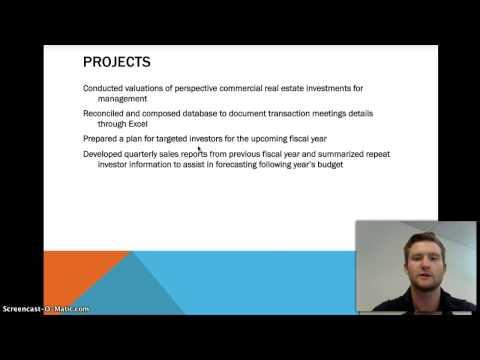 BC Corp. internship presentation