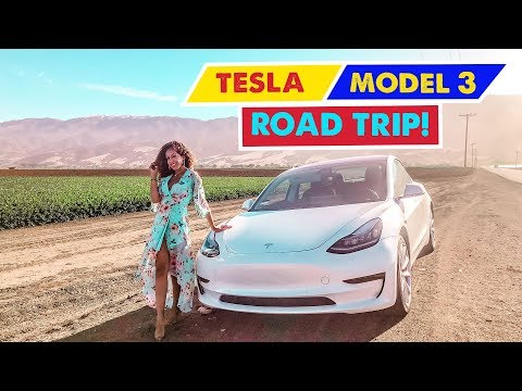 TESLA MODEL 3 ROAD TRIP! Los Angeles to Oakland
