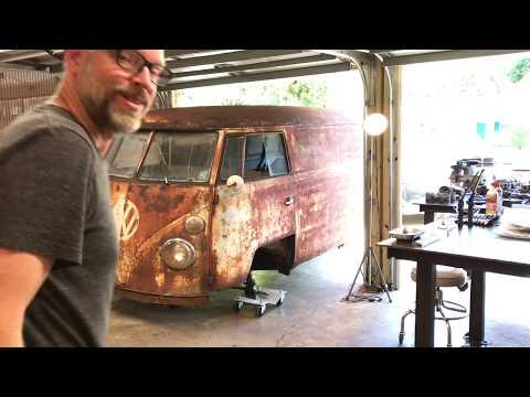 CLASSIC VOLKSWAGEN BUS BRAKE JOB!!! RESTORATION RESURRECTION!!! 1962 VW Type 2 Van/Bus, VW Kombi,