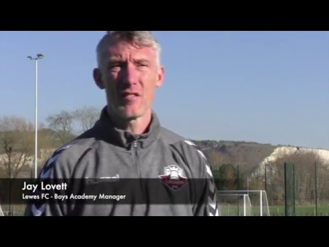 The Lewes FC Academy - 2016