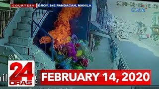 24 Oras Express: February 14, 2020 [HD]