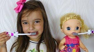 MINHA ROTINA MANHÃ - Are you sleeping brother John Nursery Rhyme Song Educational Video for Children