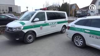 Nauji Raseinių policijos automobiliai