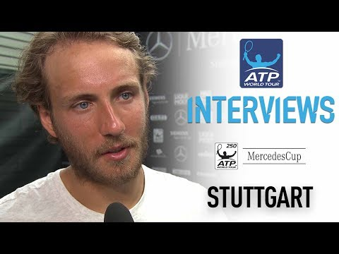 Interview: Lucas Pouille Reflects On Winning Stuttgart Title 2017