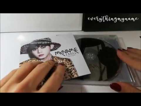 Unboxing MYNAME [Gunwoo Limited Web version] - 『I.M.G.~without you』3rd Japanese Album