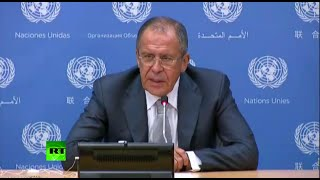 Lavrov: West stuck with Cold War mentality (UN Gen Assembly Full Q&A)