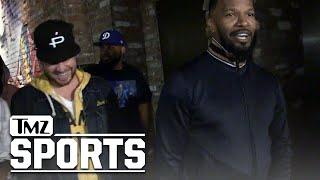 Jamie Foxx: How Bout Them Dodgers!? | TMZ Sports