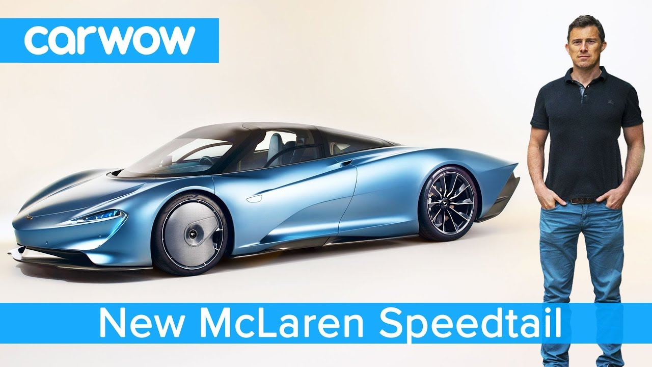 New £1.8M McLaren Speedtail hypercar revealed - it can out accelerate a Bugatti Chiron!