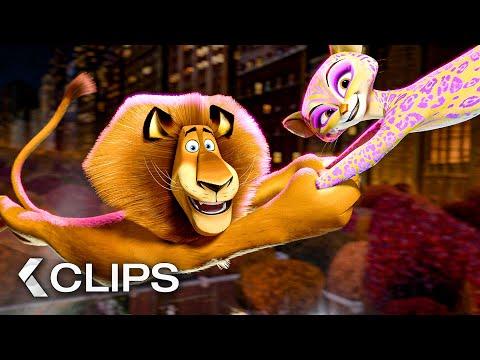 MADAGASCAR 3 All Clips (2012)