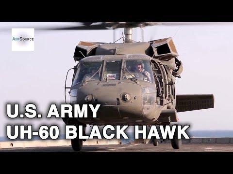 U.S. Army UH-60 Black Hawk Flight Deck Ops