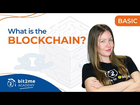 🎓 What is the BLOCKCHAIN? – Bit2Me Academy in English