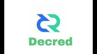 видео Криптовалюта Decred (DCR), майнинг альткоинов декред, курс и прогнозы 2018 год