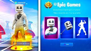 *NEW* MARSHMELLO SKIN in FORTNITE! (How To GET MARSHMELLO Skin FORTNITE) Marshmello Fortnite!