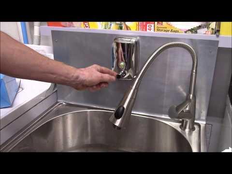 Backsplash and Soap Dispenser for the Utility Sink