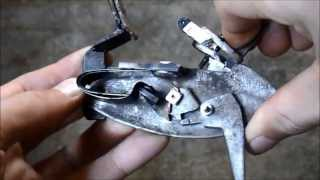 Homemade flintlock mechanism
