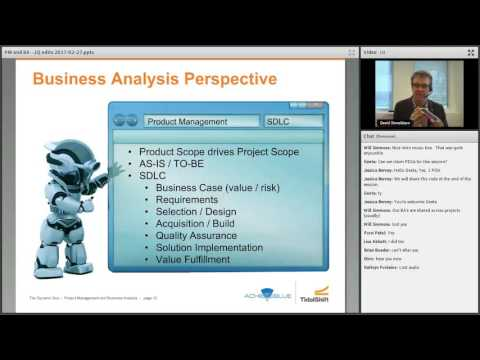 The Dynamic Duo II: Project Management & Business Analysis Webinar