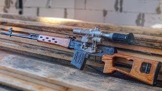 як зробити з дерева гвинтівку свд своїми руками інструкція