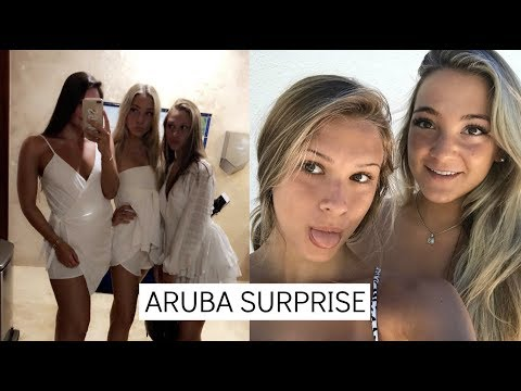GUESS WHO SURPRISED US IN ARUBA!! ( I cried )