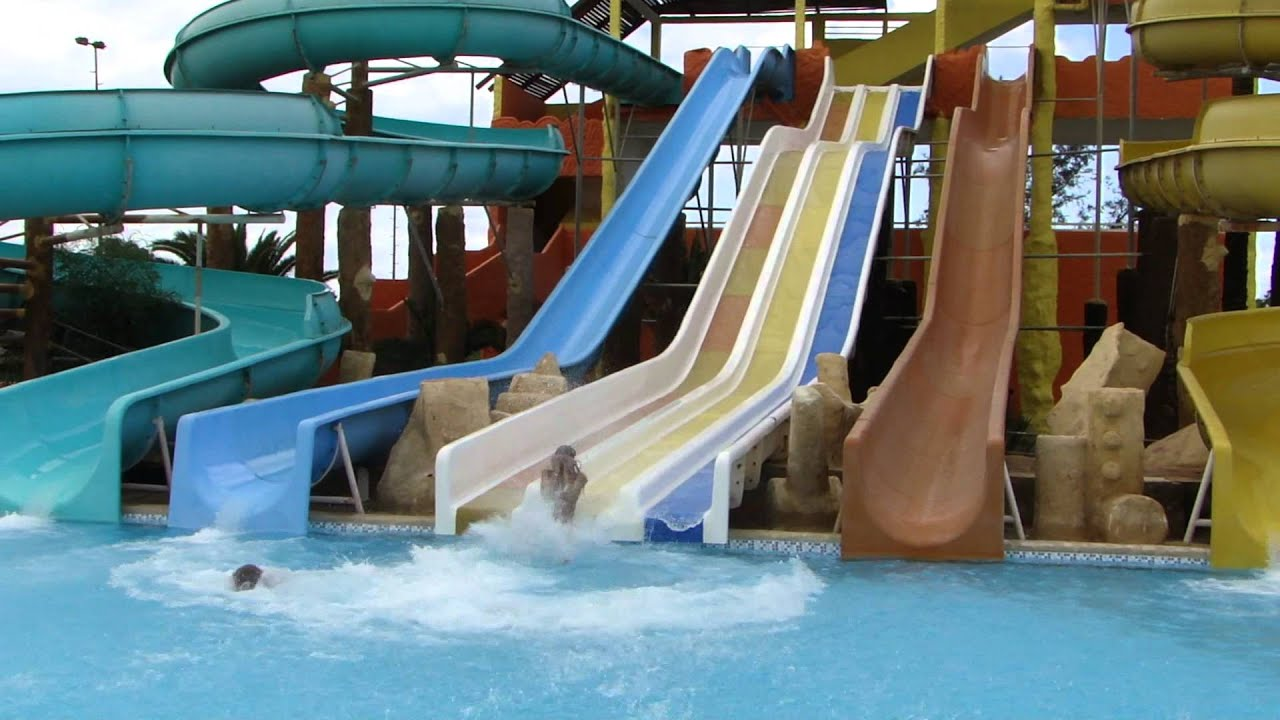 Waterslide Competition Hotel Club Caribbean World