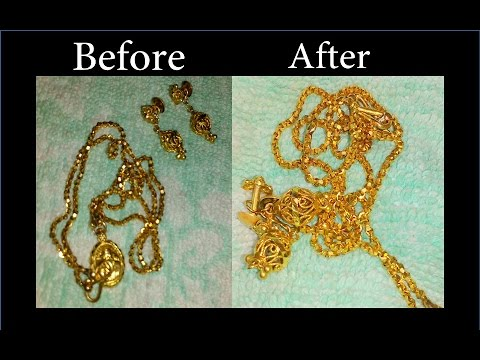 How to clean gold jewellery at home simple life hacks timesnow how to clean gold jewellery at home simple life hacks timesnow breakingnews solutioingenieria Images
