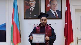 Anadolu Universiteti Azərbaycan Proqramları 2019-cu  il məzunu Asəf Ağasızadə