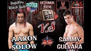 GCWA: Dojo Pro Black Belt Championship Match Aaron Solow (C) V Sammy Guevara
