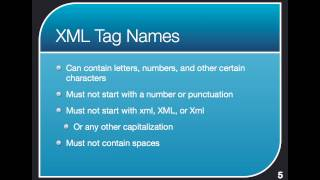 NIEM ATC 2 of 5 - Basic XML Concepts (Tag Names and Hierarchy)