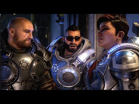 Fahz Ruins A Romantic Scene Between JD And Kait - Gears 5