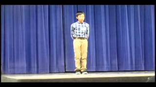 Chinese Poetry Contest 2012