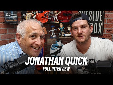 Interview with LA Kings Goalie Jonathan Quick, 2x Stanley Cup Champion | CEO Brandon Steiner