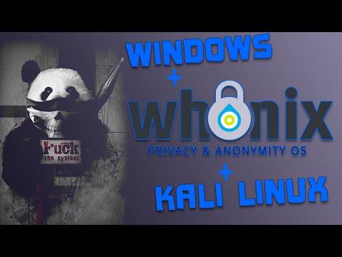 Обзор и настройка Whonix. Объединяем Whonix и Kali Linux