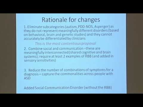 Discoveries Lecture: The Changing Landscape of Autism Spectrum