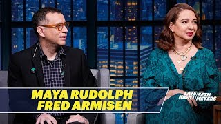 maya rudolph and fred armisen on the pros and cons of being a married couple