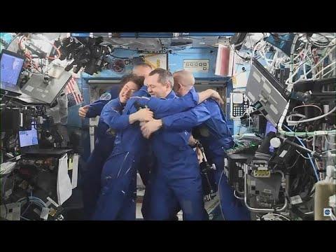 euronews uzay muhabiri Parmitano'nun Uluslararası Uzay İstasyonu'ndaki görevi sona erdi