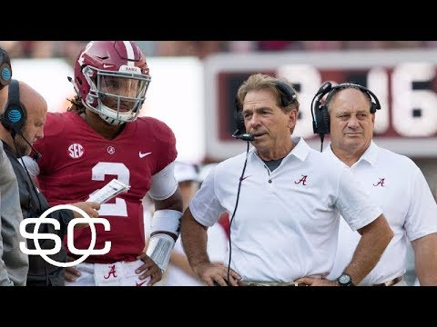Nick Saban says he likes what he sees with Jalen Hurts | SportsCenter | ESPN