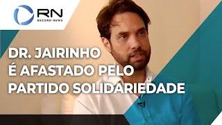 Dr. Jairinho é afastado pelo partido Solidariedade