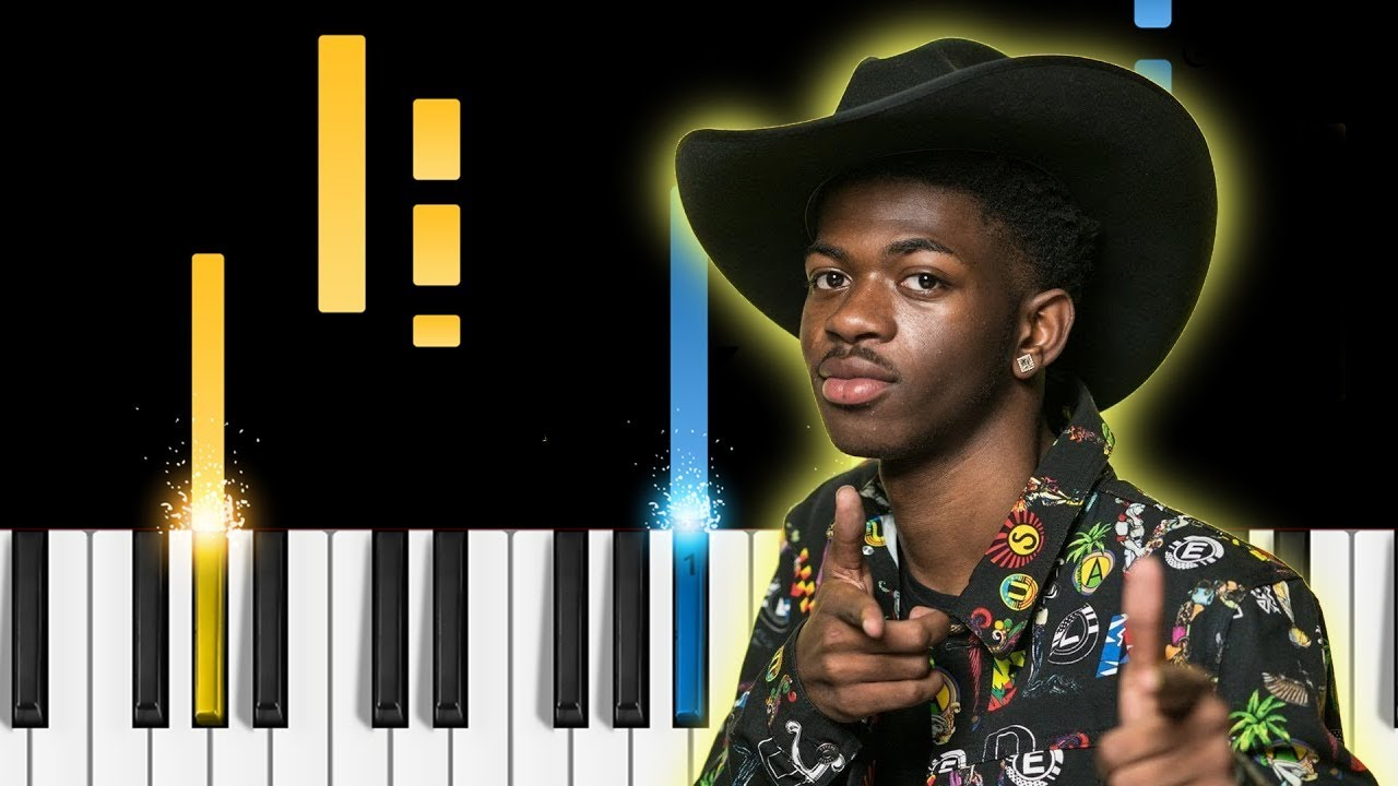 Lil Nas X Old Town Road Remix Ft Billy Ray Cyrus Piano