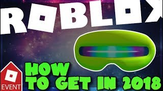 [EVENT][READ DESC] How to get the Interstellar Sunglasses 2018|Roblox: Galaxy