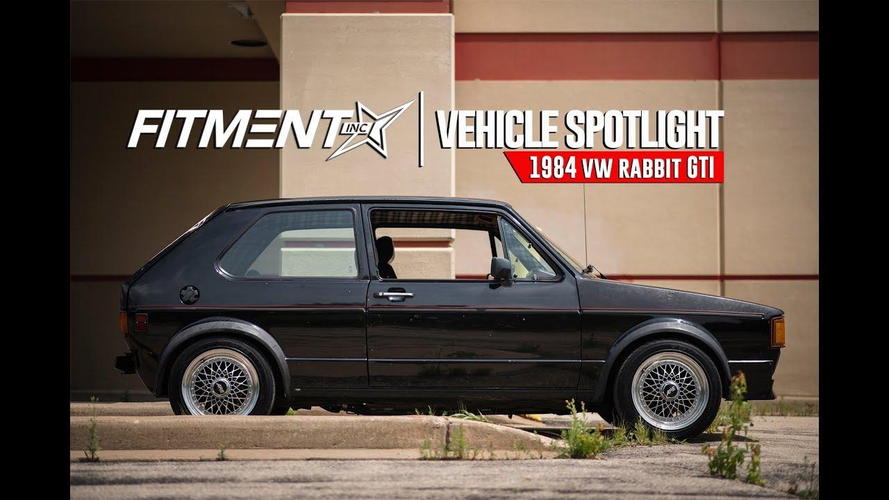 volkswagen rabbit lowered. vehicle spotlight - lowered 1984 vw gti rabbit volkswagen