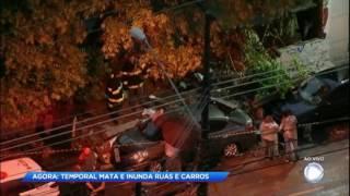 Forte temporal atinge Grande São Paulo e uma pessoa morre
