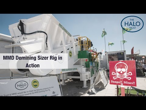MMD Demining Sizer Rig In Action