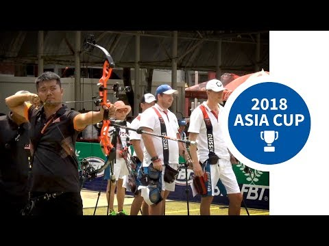 Recurve and compound team finals | Bangkok 2018 Asia Cup stage 1