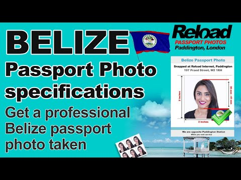 Belize Passport Photo Specifications And Visa Photos Snapped In Paddington, London