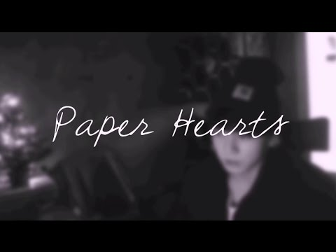"BTS Jungkook - ""Paper Hearts"" Cover Lyrics (Empty Arena Version)"