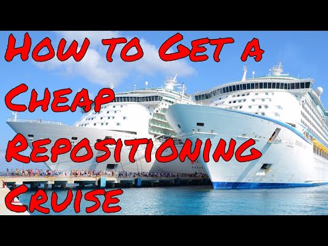 How to get a Cheap Repositioning Cruise  Finding your cruise ship vacation deal!