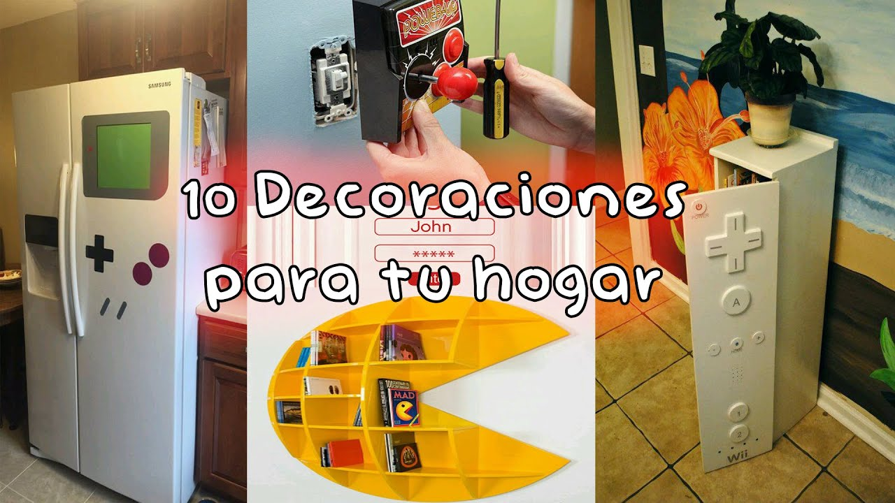 Top 10 decoraciones gamer para tu hogar youtube for Decoraciones de hogar
