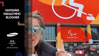 Danielle Saenz | Wheelchair curling craze | Samsung Paralympic Blogger | PyeongChang 2018