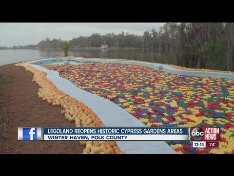 Legoland Florida reopens historic Cypress Gardens icons